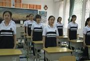 乐山一中室内课间操